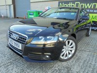 USED 2009 AUDI A4 2.0 TDI SE 4d 141 BHP Excellent Condition, No Deposit Necessary, Part Exchange Welcomed