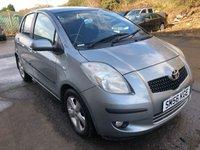 2006 TOYOTA YARIS 1.3 T SPIRIT VVT-I MM 5d AUTO 86 BHP £2500.00