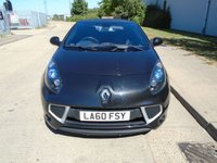 USED 2010 60 RENAULT WIND ROADSTER 1.1 DYNAMIQUE S TCE 2d 100 BHP 1 OWNER 45,000 MILES PART EXCHANGE AVAILABLE / ALL CARDS / FINANCE AVAILABLE