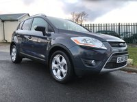 2010 FORD KUGA 2.0 TITANIUM TDCI AWD 163PS 4X4 FULL FORD HISTORY 10 STAMPS LAST OWNER 6 YEARS  £7995.00