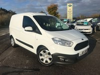 USED 2015 65 FORD TRANSIT COURIER 1.6 TREND TDCI 1d 94 BHP One Owner, Low Mileage, Finance Arranged, Side Loading Door.