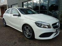 2018 MERCEDES-BENZ A CLASS 1.6 A 160 AMG LINE EXECUTIVE 5d 102 BHP £19995.00