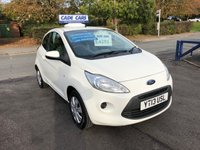 USED 2013 13 FORD KA 1.2 EDGE 3d 69 BHP CADE CARS LTD. Established for over 25 years.