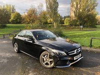 2015 MERCEDES-BENZ C CLASS 2.1 C220 D AMG LINE 4d AUTO 170 BHP £17990.00