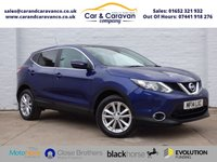 USED 2014 14 NISSAN QASHQAI 1.2 ACENTA PREMIUM DIG-T 5d 113 BHP Full Service History NAV DAB Buy Now, Pay Later Finance!