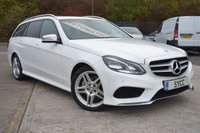 USED 2013 13 MERCEDES-BENZ E CLASS 3.0 E350 BLUETEC AMG SPORT 5d AUTO 249 BHP HEATED MEMORY LEATHER/ALCANTARA ~ POWER TAILGATE ~ SAT NAV ~ 2 KEYS ~ FULL SERVICE RECORDS