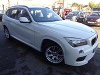 2011 BMW X1 2.0 XDRIVE20D M SPORT 5d 174 BHP £10490.00
