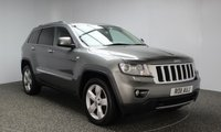 USED 2011 11 JEEP GRAND CHEROKEE 3.0 V6 CRD LIMITED 5DR AUTOMATIC 237 BHP SAT NAV SUPERB SERVICE HISTORY + 0% FINANCE AVAILABLE T&C'S APPLY + HEATED LEATHER SEATS + SATELLITE NAVIGATION + REVERSE CAMERA + BLUETOOTH + PARKING SENSOR + CRUISE CONTROL + CLIMATE CONTROL + MULTI FUNCTION WHEEL + 20 INCH ALLOY WHEELS