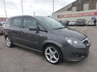 USED 2011 11 VAUXHALL ZAFIRA 1.8 SRI XP 5d 138 BHP GREAT VALUE 7 SEATER * GOT BAD CREDIT * WE CAN HELP *