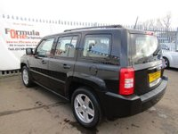 USED 2008 08 JEEP PATRIOT 2.4 Sport 4x4 5dr 2 OWNERS+FULL MOT+VALUE