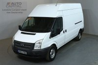 USED 2013 63 FORD TRANSIT 2.2 350 124 BHP LWB H/ROOF L3 H3 PANEL VAN TWO OWNER S/H SPARE KEY
