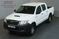 USED 2013 63 TOYOTA HI-LUX 2.5 HL2 4X4 D-4D DCB 142 BHP AIR CON LIGHT UTILITY PICK UP £8,250+VAT AIR CONDITIONING