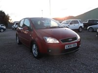 USED 2006 56 FORD C-MAX 2.0 C-MAX ZETEC 5d AUTO 144 BHP AUTOMATIC, FULL YEARS MOT