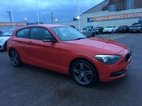 USED 2012 62 BMW 1 SERIES 1.6 114I SPORT 3d 101 BHP BLUETOOTH * MEDIA CONNECTION * BAD CREDIT * WE CAN HELP