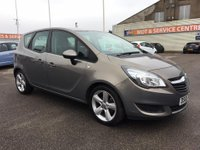 USED 2015 65 VAUXHALL MERIVA 1.4 EXCLUSIV AC 5d 118 BHP SH * CRUISE CONTROL * GOT BAD CREDIT * WE CAN HELP