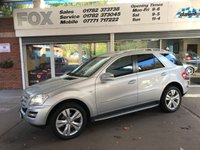 2011 MERCEDES-BENZ M CLASS 3.0 ML350 CDI BLUEEFFICIENCY SPORT 5d AUTO 231 BHP £14495.00