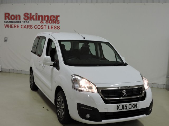 View our 2015 15 PEUGEOT PARTNER 1.6 BLUE HDI S/S TEPEE ACTIVE 5d 100 BHP