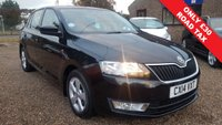 USED 2014 14 SKODA RAPID 1.2 SPACEBACK SE TSI 5d 85 BHP MULTI FUNCTION STEERING WHEEL