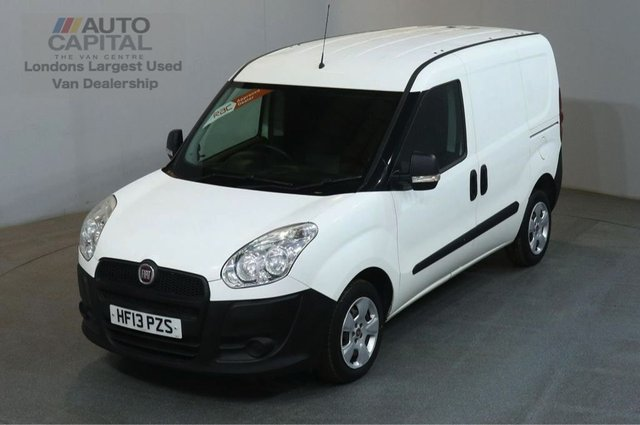 2013 13 FIAT DOBLO 1.2 16V MULTIJET SWB 90 BHP PANEL VAN ONE OWNER S/H SPARE KEY