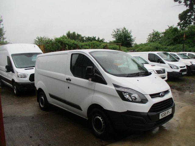 2015 65 FORD TRANSIT CUSTOM  2.2 TDCi 100ps Low Roof D/Cab Van