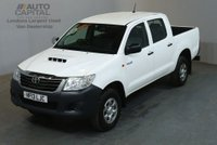 USED 2013 13 TOYOTA HI-LUX 2.5 HL2 4X4 D-4D DCB 142 BHP AIR CON LIGHT UTILITY PICK UP £7,990+VAT AIR CONDITIONING