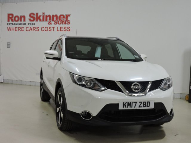 View our 2017 17 NISSAN QASHQAI 1.5 N-VISION DCI 5d 108 BHP with Comfort Pack