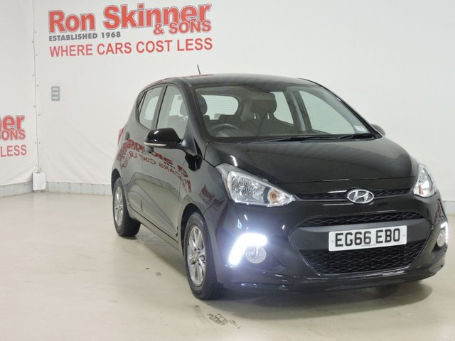 View our 2017 66 HYUNDAI I10 1.2 PREMIUM 5d 86 BHP