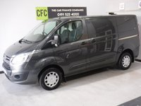 USED 2016 66 FORD TRANSIT CUSTOM 2.2 290 TREND LR P/V 1d 124 BHP GREAT VAN  WITH ONE OWNER AND FULL DEALER HISTORY FINISHED IN GLEAMING GRAY ,WITH IMMACULATE BODY WORK AND UNMARKED INTERIOR,  ELEC WINDOWS, REMOTE CENTRAL LOCKING, RADIO CD USB POINT,  FRONT AND REAR PARKING SENSORS, CARGO LINED, BULK HEAD, BLUETOOTH PHONE PREP JUST SERVICED READY FOR WORK.