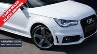 USED 2013 63 AUDI A1 1.4 SPORTBACK TFSI S LINE BLACK EDITION 5d AUTO 138 BHP Just 13,000 miles from New - Fantastic Limited Edition Vehicle with a Huge Specification