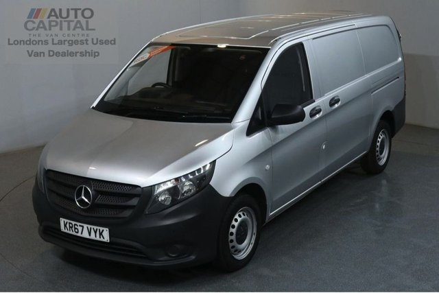 2017 67 MERCEDES-BENZ VITO 1.6 111 CDI 6d 114 BHP LWB FWD PANEL VAN FRONT AND REAR PARKING SENSORS