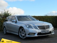 USED 2012 62 MERCEDES-BENZ E CLASS 2.1 E250 CDI BLUEEFFICIENCY SPORT 2d AUTOMATIC * AMG * TIPTRONIC AUTOMATIC * SPORTS ESTATE *