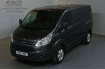 2017 FORD TRANSIT CUSTOM 2.0 290 LIMITED AUTO 130 BHP L1 H1 EURO 6 AIR CON £16350.00