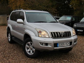 2009 TOYOTA LAND CRUISER 3.0 INVINCIBLE D-4D 8STR 5d AUTO 171 BHP £10950.00