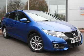 2015 HONDA CIVIC 1.6 I-DTEC SE PLUS NAVI TOURER 5d 118 BHP £8948.00