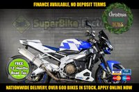 USED 2007 07 APRILIA TUONO 1000CC USED MOTORBIKE, NATIONWIDE DELIVERY GOOD & BAD CREDIT ACCEPTED, OVER 500+ BIKES IN STOCK