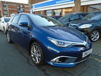 USED 2015 65 TOYOTA AURIS 1.8 VVT-I EXCEL TSS 5d AUTO 99 BHP