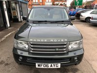 USED 2006 06 LAND ROVER RANGE ROVER SPORT 2.7 TDV6 HSE 5d AUTO 188 BHP