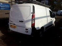 USED 2014 14 FORD TRANSIT CONNECT 1.6 210 P/V 1d 94 BHP BEAUTIFUL VAN FINISHED IN GLEAMING ALPINE WHITE.  WITH FULL HISTORY, THIS VAN  HAS BEEN SERVICED REGARDLESS OF COST , SPECIFICATIONS, INC , ELEC WINDOWS  AUX POINTS. BLUE TOOTH PHONE PREP , CD PLAYER, BULKHEAD