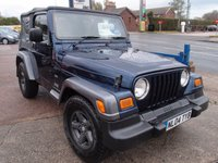USED 2004 04 JEEP WRANGLER 4.0 EXTREME SPORT 2d 174 BHP
