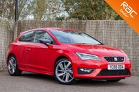 USED 2016 66 SEAT LEON 1.4 ECOTSI FR TITANIUM 3d 148 BHP £0 DEPOSIT BUY NOW PAY LATER - 1 OWNER - FULL S/H - NAVIGATION