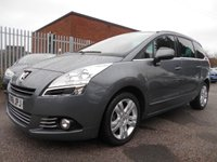 2011 PEUGEOT 5008 1.6 HDI EXCLUSIVE 5d AUTO 112 BHP £6995.00