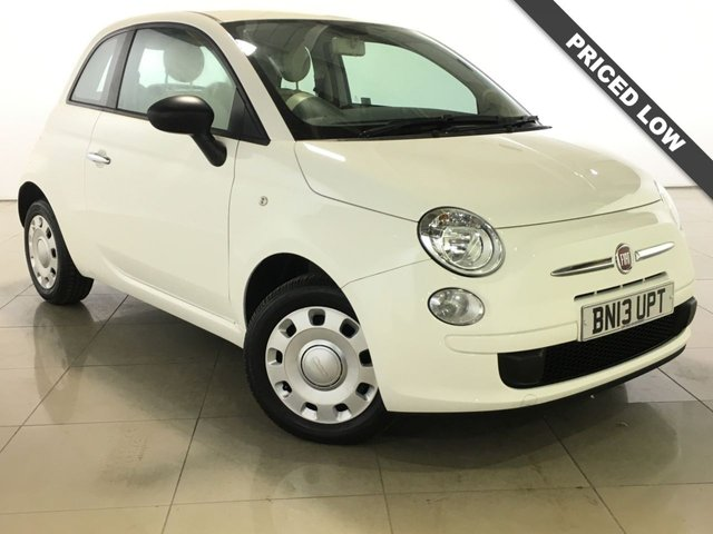 View our 2013 13 FIAT 500 1.2 POP 3d 69 BHP