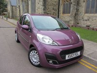 USED 2013 13 PEUGEOT 107 1.0 ACTIVE 5d 68 BHP ++ GREAT COLOUR ++