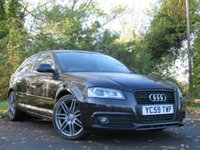 USED 2009 59 AUDI A3 2.0 TDI S LINE SPECIAL EDITION 3d  LOW  RUNNING COSTS FAMILY HATCHBACK