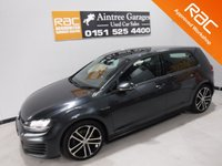 """USED 2015 15 VOLKSWAGEN GOLF 2.0 GTD 5d 181 BHP A FANTASTIC SPORTY CAR THEY ARE FAST AN ECONOMIC, ONE OWNER FULL SERVICE HISTORY, GLEAMING GRAY PAINTWORK, 18"""" ALLOY WHEELS, PARKING SENSORS,. LEATHER CLAD FLAT BOTTOM STEERING WHEEL, , START-STOP, CARBON FIBRE INSERTS, CRUISE CONTROL, COLLISION CONTROL, TRACTION CONTROL, VW MEDIA WITH AUX AND USB POINT,  DUAL CLIMATE CONTROL, ELEC HEATED FOLDING MIRROS, BLUETOOTH - PHONE PREP CLIMATE CONTROL, AND MUCH MUCH MORE"""