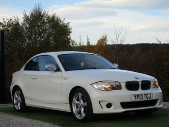 2013 BMW 1 SERIES 2.0 118D EXCLUSIVE EDITION 2d 141 BHP £8990.00