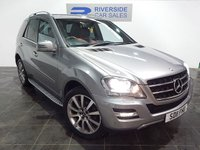 2011 MERCEDES-BENZ M-CLASS ML350 CDI BLUEEFFICIENCY GRAND EDITION £13000.00