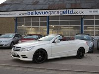 2012 MERCEDES-BENZ E CLASS 3.0 E350 CDI BLUEEFFICIENCY SPORT 2d AUTO 265 BHP £SOLD