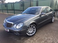 2007 MERCEDES-BENZ E CLASS 3.0 E320 CDI SPORT 4d AUTO 222 BHP ALLOYS SATNAV PRIVACY SENSORS A/C CRUISE LEATHER MOT 10/19 £4990.00