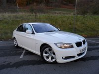 USED 2011 61 BMW 3 SERIES 2.0 320D EFFICIENTDYNAMICS 4d 161 BHP FULL SERVICE HISTORY, NAV